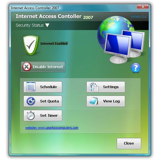 Internet Access Controller 2007